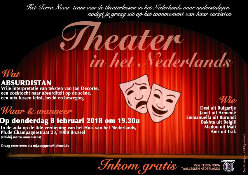 Theaterlessen voor anderstaligen