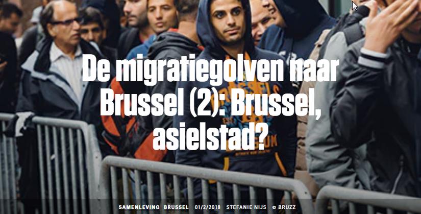 migratiegolven naar Brusssel